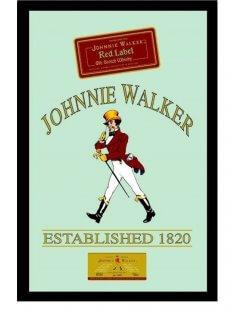Johnnie Walker Red label spiegel