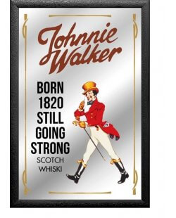 Johnnie Walker spiegel