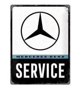Mercedes-benz service reclamebord