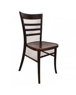 Te Huur: Stapelbare caféstoel.