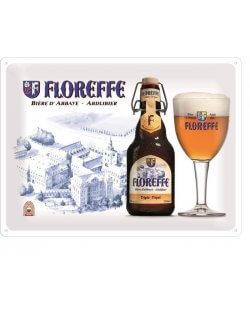 Floreffe Abdijbier reclamebord