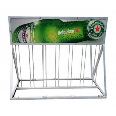 Showroommodel: Fietsenrek, fietsenstalling Heineken