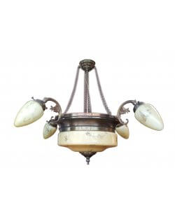 Showroommodel: Hanglamp brons 5-lichts