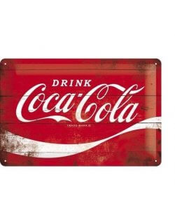 Drink Coca-Cola reclamebord