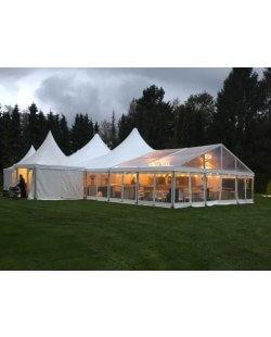 Alu-frame tent 8 meter