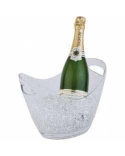 Champagne bowl helder klein