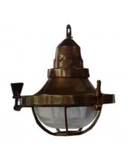 Showroommodel: Antiek messing hanglamp
