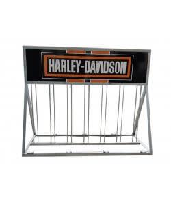 Showroommodel: Fietsenrek , fietsenstalling Harley-Davidson
