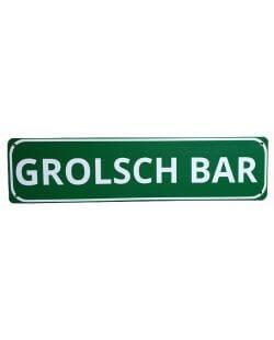 Grolsch bar reclamebord