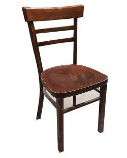 Occasion - Caféstoelen 8x op voorraad