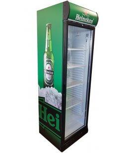 Showroommodel Heineken koelkast 382L - Nieuw ontwerp
