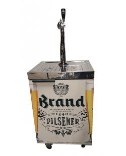 Occasion - Mobiele tap david tapssysteem Brand bier