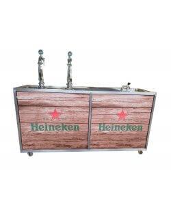 Occasion - Heineken Mobiele tap 2 kraans