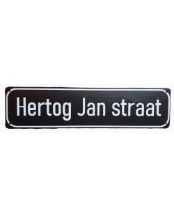 Hertog Jan straat reclamebord