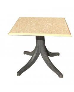 Vierkante terrastafel