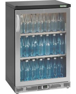 Maxiglass flessenkoeling 140L 84/85 cm- chroomstaal