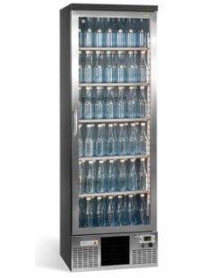 Maxiglass flessenkoeling 300L 180-182,5 cm- chroomstaal