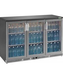 Maxiglass flessenkoeling 315L 84/85 cm- chroomstaal