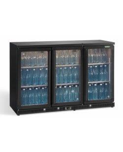 Maxiglass flessenkoeling 315L 90/91 cm- antraciet