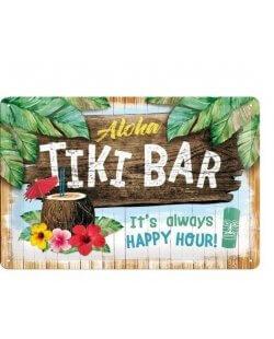 Aloha tiki bar reclamebord