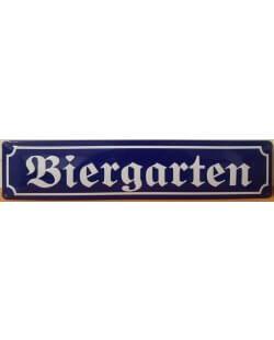 Biergarten reclamebord XL