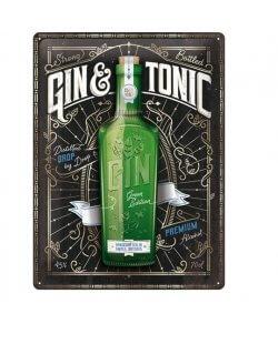 Gin & Tonic reclamebord