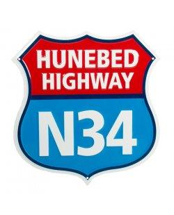 Hunebed highway reclamebord