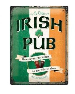 Irish pub reclamebord