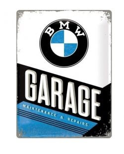 BMW Garage reclamebord