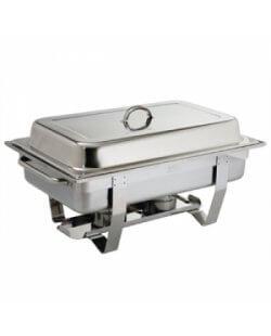 Te huur: Chafing dish met brandpasta