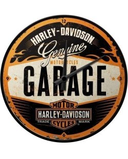 Harley-Davidson Garage klok