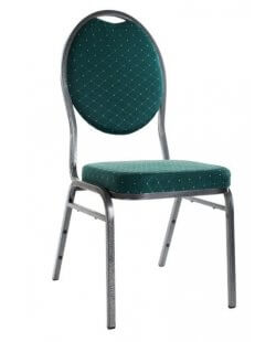 Stapelbare stackchair stoel groen