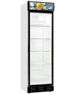 Glasdeur koelkast  382L