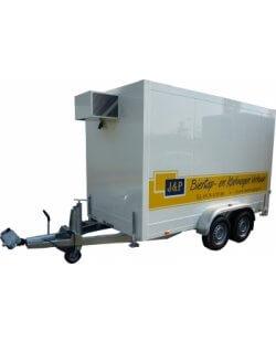 Isopolar Koelaanhangwagen Middel