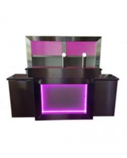 Complete LED bar met achterkast incl. koeling