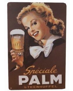 Palm bier steenhuffel reclamebord