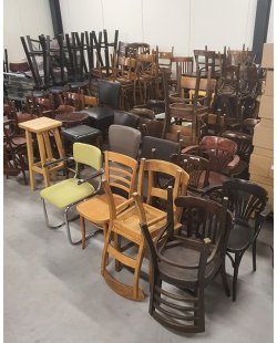 Showroommodellen en gebruikte stoelen