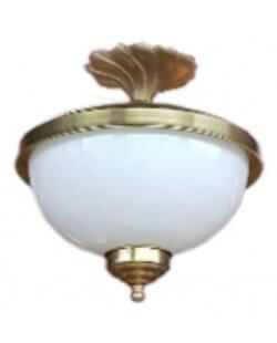 Showroommodel: Plafondlamp antiek messing