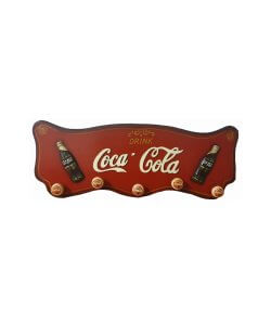 Coca cola houten kapstok