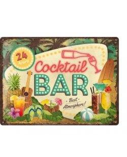 Cocktail Bar reclamebord