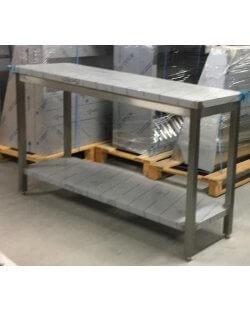 Magazijnopruiming: Werktafel 1500x450x900 mm - met onderschap