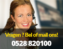 Bel of mail ons!